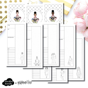 H Weeks Size | Goldmine & Coco Daily Collaboration Printable Inserts ©