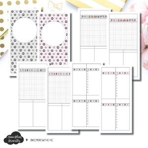 Cahier TN Size | OnceMoreWithLove SanMunchkin Collaboration Printable Insert ©