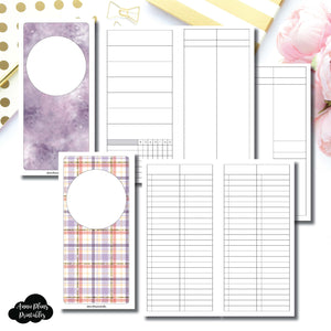HWeeks Wide Size | Libbie & Co March Mystery Kit Bundle Printable Inserts ©