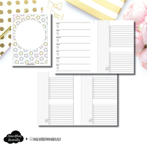 B6 TN Size | TheCoffeeMonsterzCo Collaboration Weekly/Daily Printable Insert ©