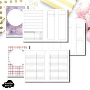 Personal Wide Rings Size | Libbie & Co March Mystery Kit Bundle Printable Inserts ©