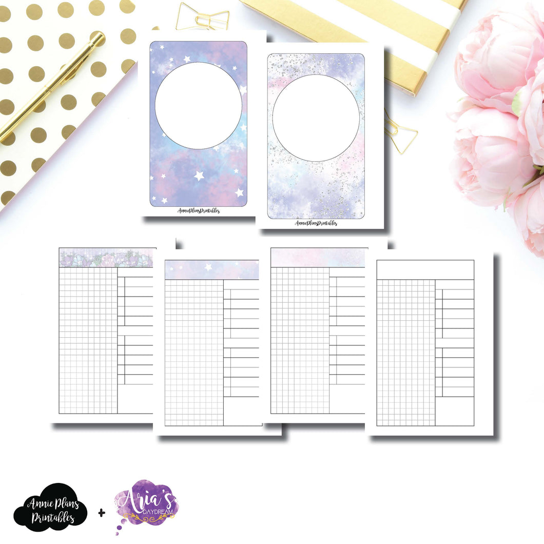 Pocket Rings Size | Aria's Daydream Anniversary Collaboration Daily Printable Insert ©