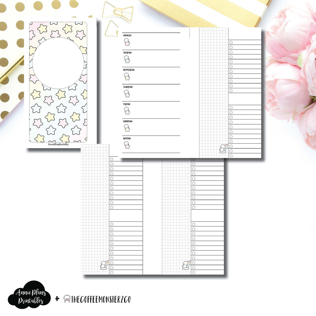 Personal Rings Size | TheCoffeeMonsterzCo Collaboration Weekly/Daily Printable Insert ©