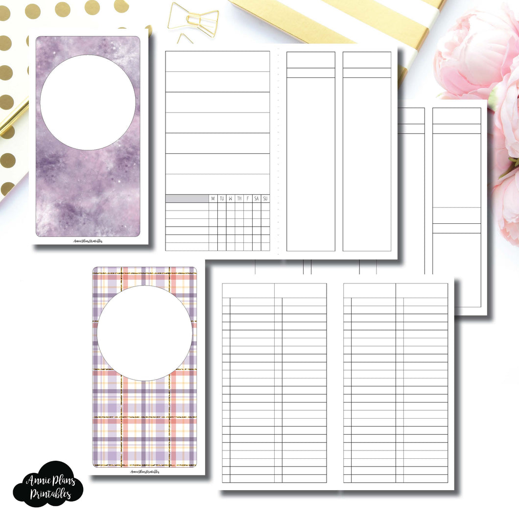 Personal TN Size | Libbie & Co March Mystery Kit Bundle Printable Inserts ©