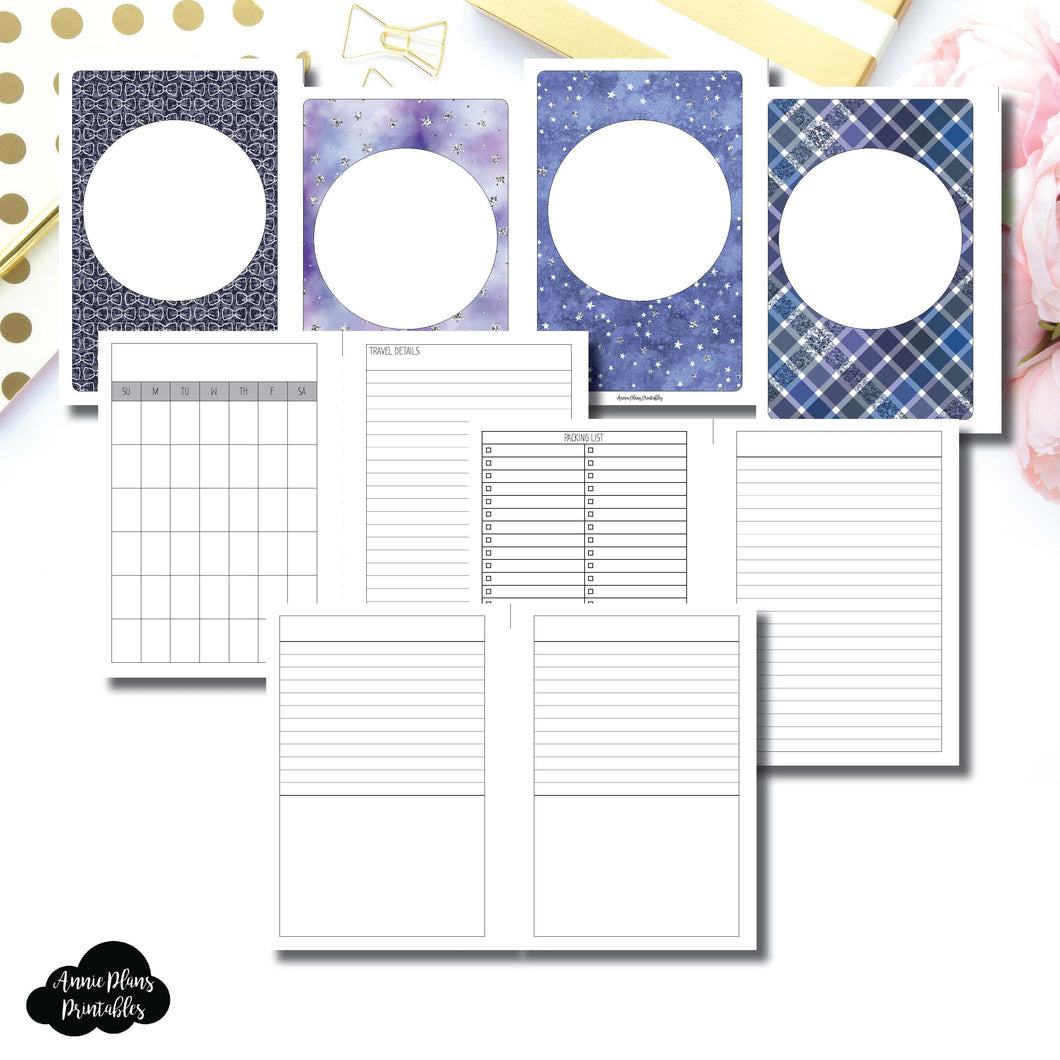 Personal Wide Rings Size | Planner Meet Up/Travel Plans Printable Insert ©