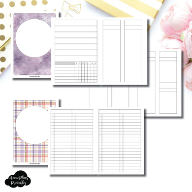A6 TN Size | Libbie & Co March Mystery Kit Bundle Printable Inserts ©