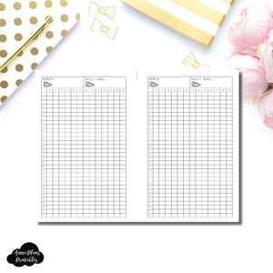 FREEBIE Mini HP Size | Monthly Step Tracker Printable