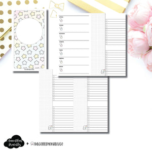 Personal TN Size | TheCoffeeMonsterzCo Collaboration Weekly/Daily Printable Insert ©