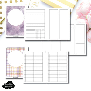 A6 Rings Size | Libbie & Co March Mystery Kit Bundle Printable Inserts ©