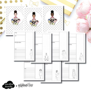 B6 TN Size | Goldmine & Coco Daily Collaboration Printable Inserts ©