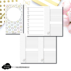 Cahier TN Size | TheCoffeeMonsterzCo Collaboration Weekly/Daily Printable Insert ©