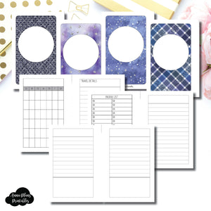 Pocket Rings Size | Planner Meet Up/Travel Plans Printable Insert ©
