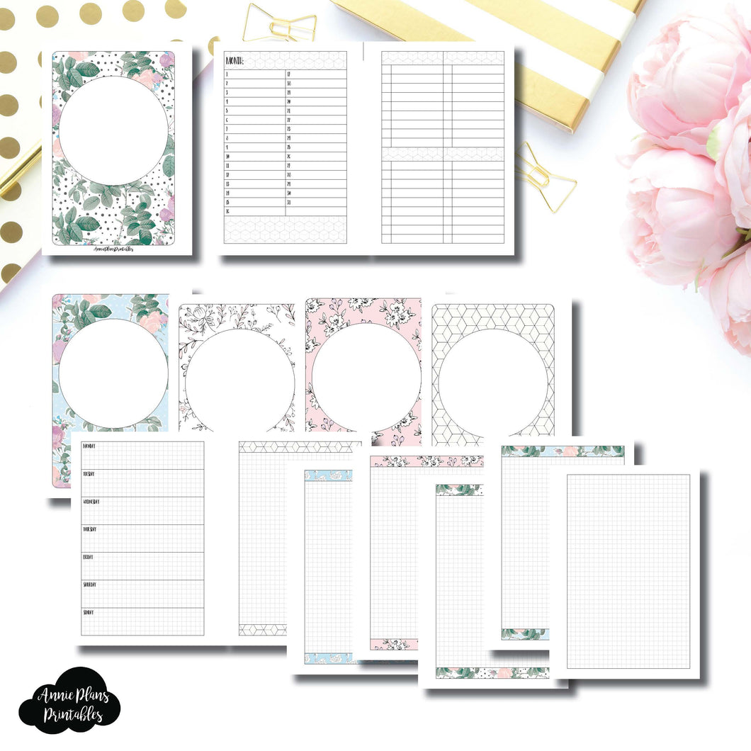 Personal Wide Rings Size | Limited Edition TPS March Collaboration Bundle Printable Inserts ©