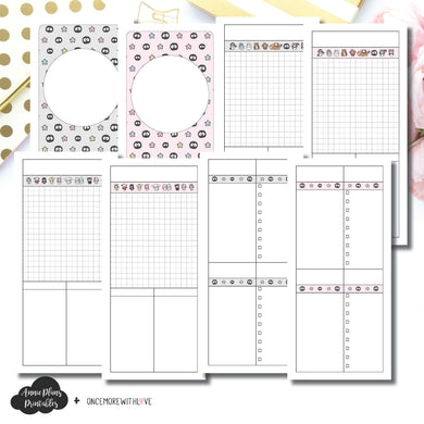 H Weeks Size | OnceMoreWithLove SanMunchkin Collaboration Printable Insert ©
