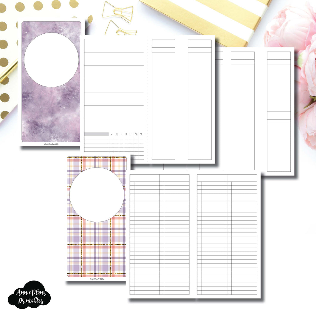 Standard TN Size | Libbie & Co March Mystery Kit Bundle Printable Inserts ©