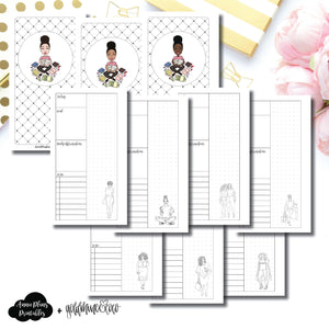 Personal Rings Size | Goldmine & Coco Daily Collaboration Printable Inserts ©