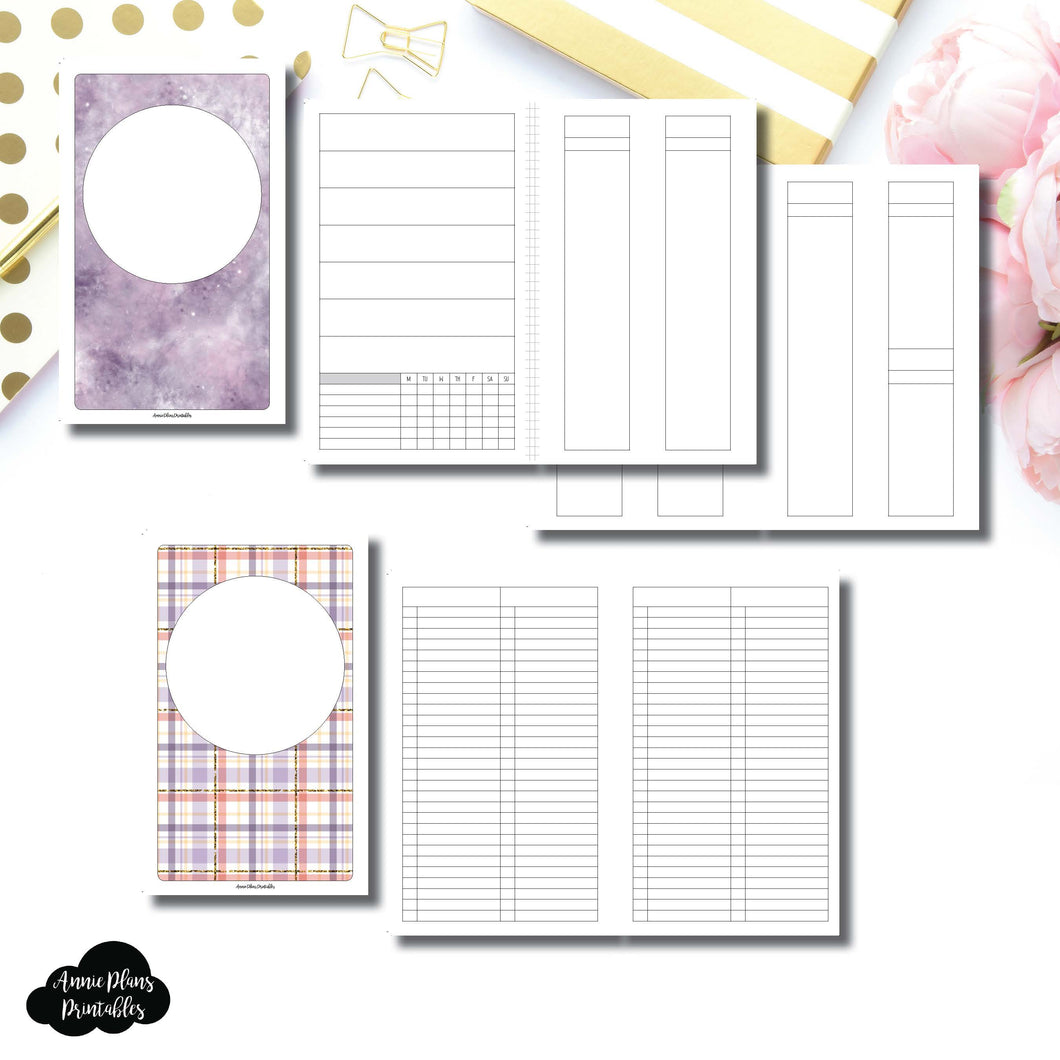 Cahier TN Size | Libbie & Co March Mystery Kit Bundle Printable Inserts ©