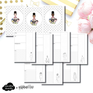 Personal Wide Rings Size | Goldmine & Coco Daily Collaboration Printable Inserts ©