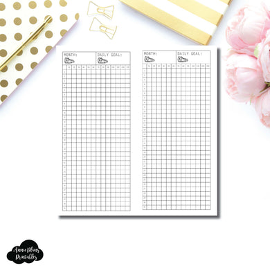 FREEBIE H WEEKS Size | Monthly Step Tracker Printable