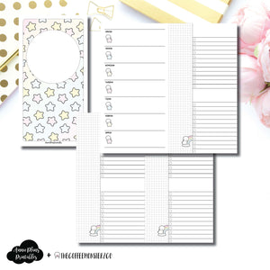 Standard TN Size | TheCoffeeMonsterzCo Collaboration Weekly/Daily Printable Insert ©