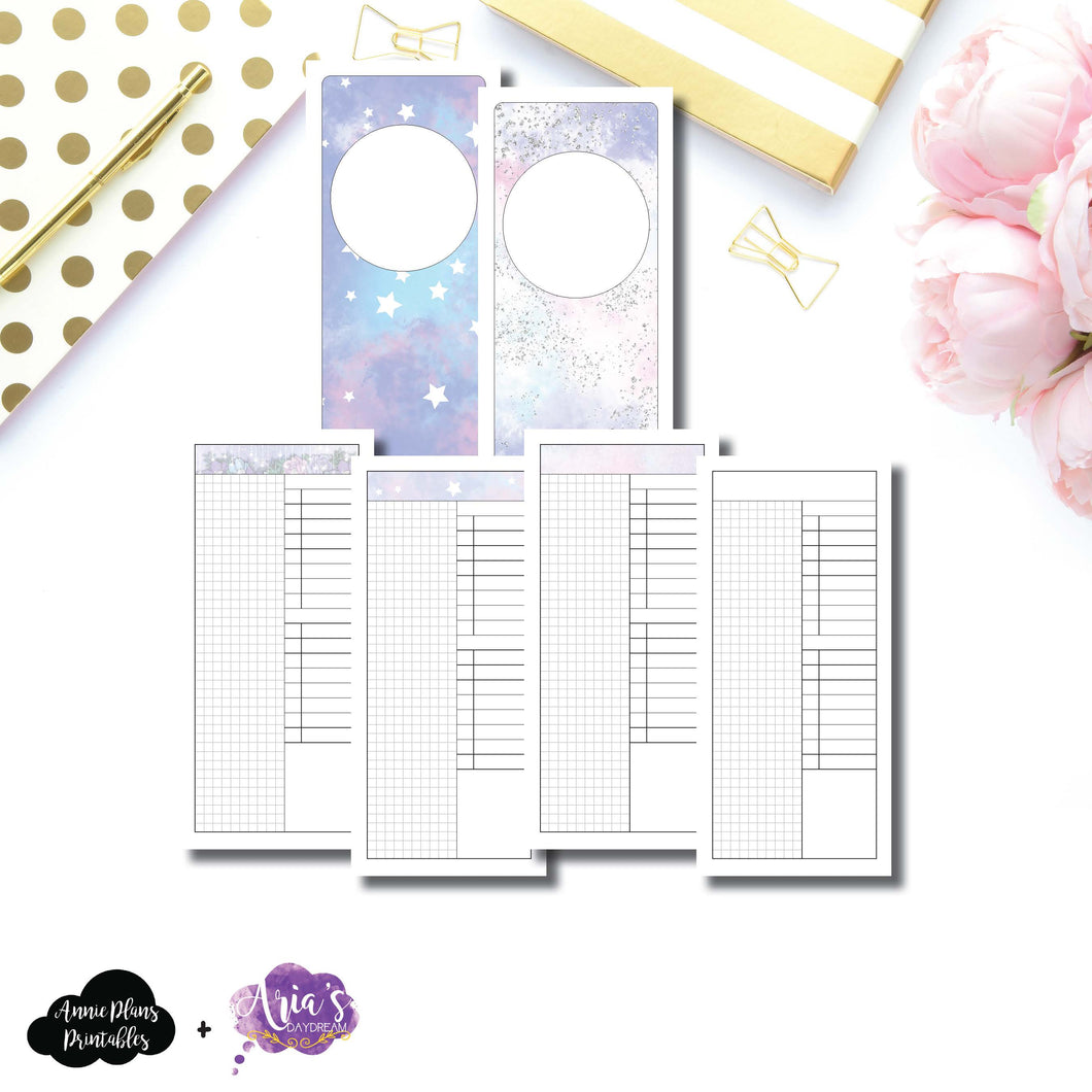 H Weeks Size | Aria's Daydream Anniversary Collaboration Daily Printable Insert ©
