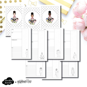 Mini HP Size | Goldmine & Coco Daily Collaboration Printable Inserts ©
