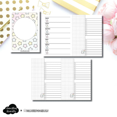 Passport TN Size | TheCoffeeMonsterzCo Collaboration Weekly/Daily Printable Insert ©