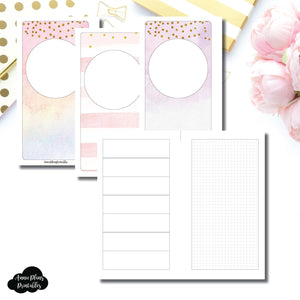 Personal Rings Size | HWeeks Weekly Layout Printable Insert ©