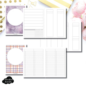 B6 TN Size | Libbie & Co March Mystery Kit Bundle Printable Inserts ©