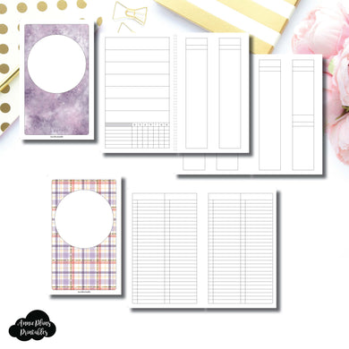 Half Letter Rings Size | Libbie & Co March Mystery Kit Bundle Printable Inserts ©