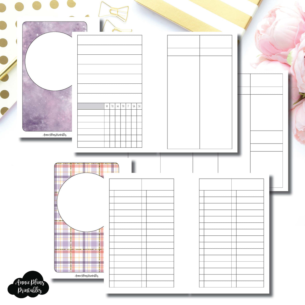Pocket Rings Size | Libbie & Co March Mystery Kit Bundle Printable Inserts ©