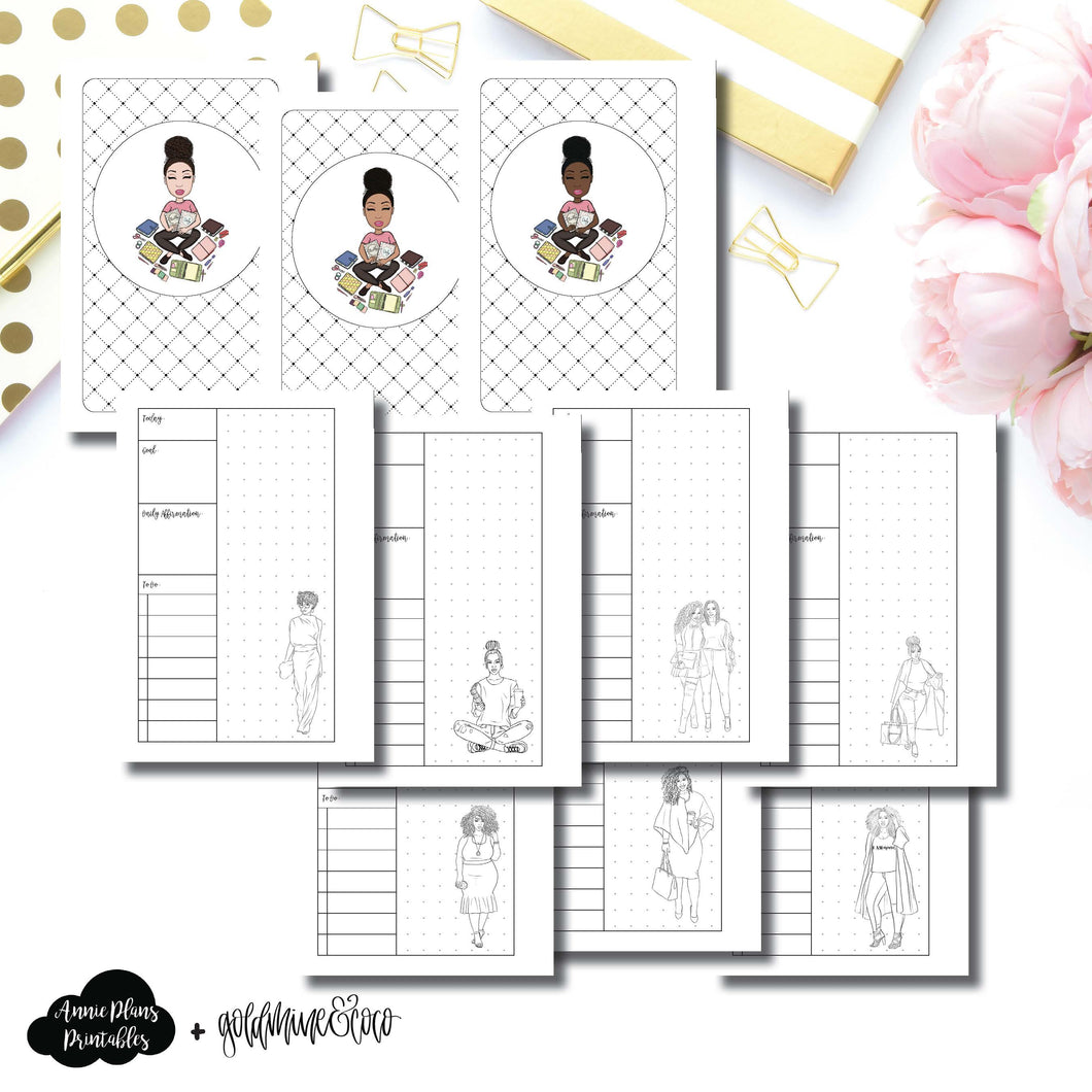 Pocket Rings Size | Goldmine & Coco Daily Collaboration Printable Inserts ©