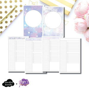 Half Letter Rings Size | Aria's Daydream Anniversary Collaboration Daily Printable Insert ©