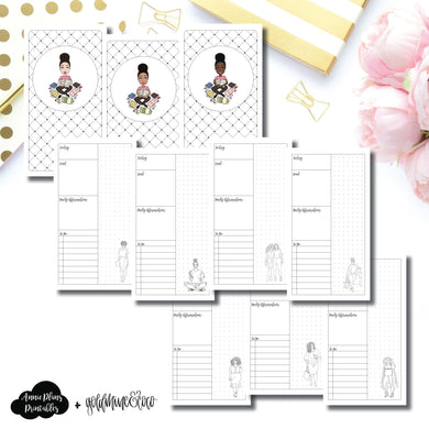 Personal TN Size | Goldmine & Coco Daily Collaboration Printable Inserts ©