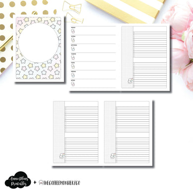 Classic HP Size | TheCoffeeMonsterzCo Collaboration Weekly/Daily Printable Insert ©
