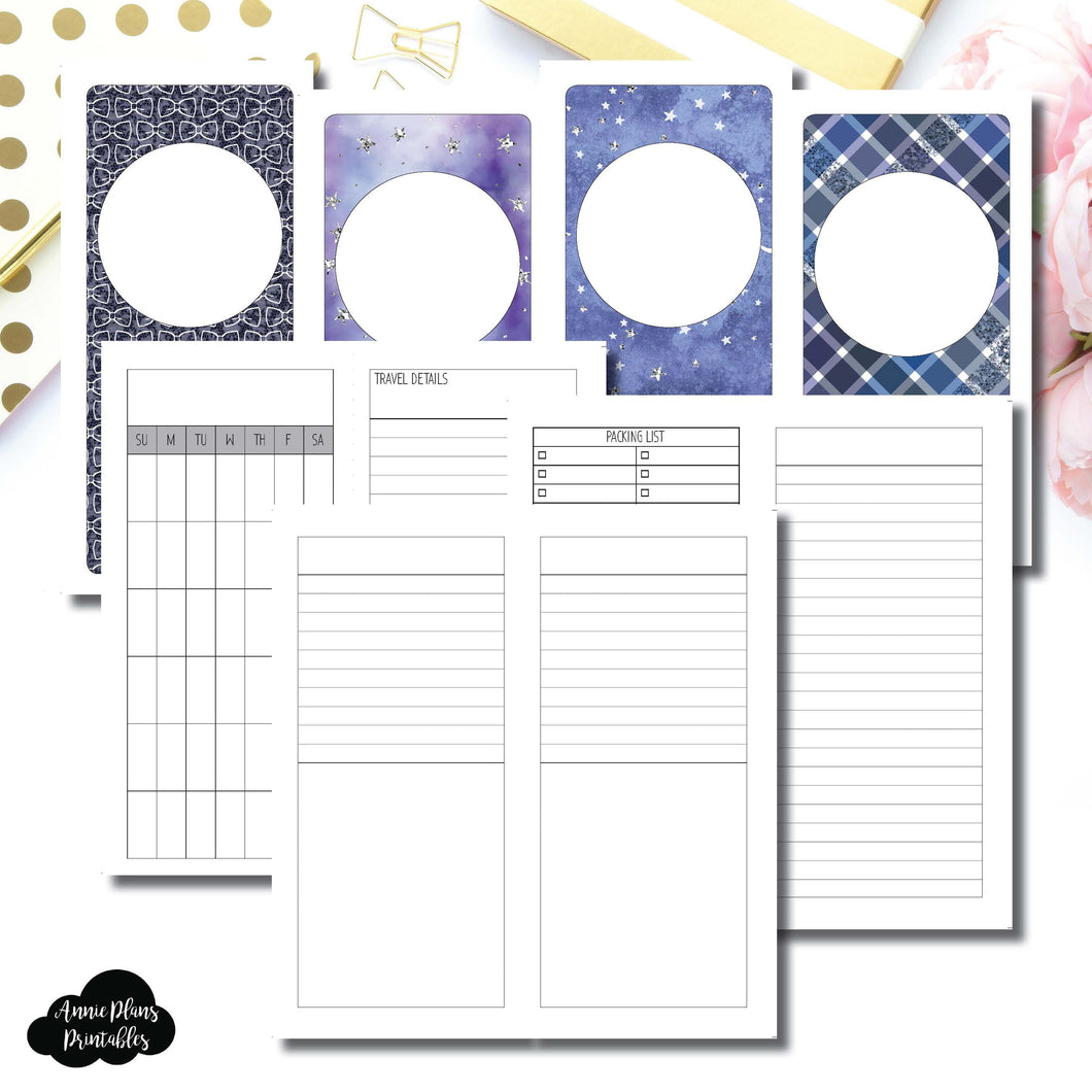 H Weeks Size | Planner Meet Up/Travel Plans Printable Insert ©