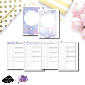 A6 Rings Size | Aria's Daydream Anniversary Collaboration Daily Printable Insert ©