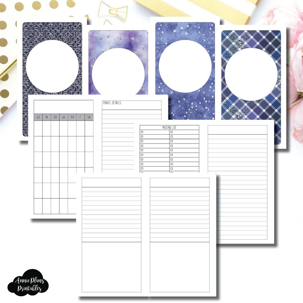 Personal TN Size | Planner Meet Up/Travel Plans Printable Insert ©