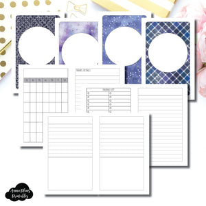 Pocket TN Size | Planner Meet Up/Travel Plans Printable Insert ©