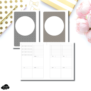 B6 Rings Size | Structured Vertical Printable Insert