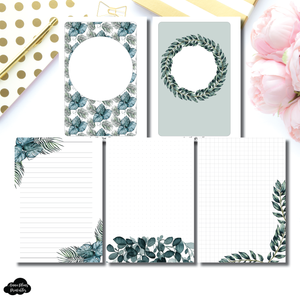 A5 Rings Size | Plant Lovers Notes Printable Insert