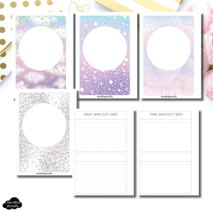 Micro HP Size | Double Box Dot Grid Printable Insert