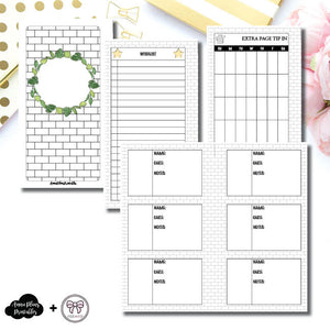 Personal Rings Size | Plant Care - Fox & Pip Collaboration Printable Insert ©