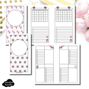 Personal Rings Size | Spot Drop Birthday Bundle Collaboration Printable Inserts ©