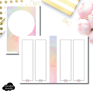 Personal Wide Rings Size | SimplyGilded Collaboration Vertical Week on 4 Page Printable Insert ©