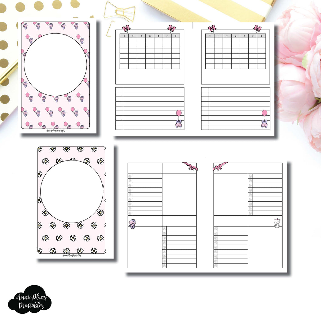 Mini HP Size | Spot Drop Birthday Bundle Collaboration Printable Inserts ©