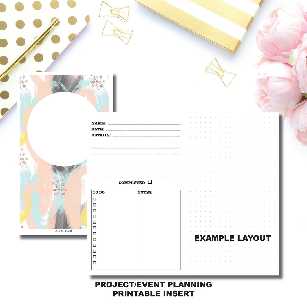 Standard TN Size | Event/Project Planning Printable Insert ©