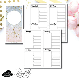 HWeeks Wide Size | JeshyPark Undated Weekly Collaboration Printable Insert ©