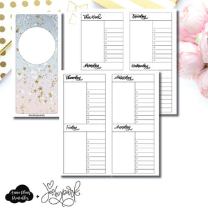 H Weeks Size | JeshyPark Undated Weekly Collaboration Printable Insert ©