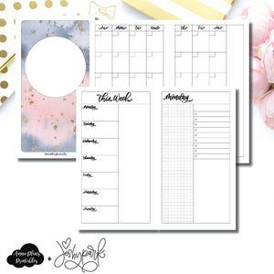 Personal TN Size | JeshyPark Undated Daily Collaboration Printable Insert ©